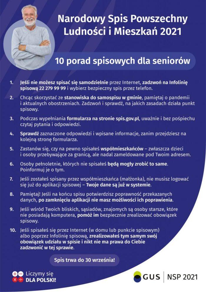 10 porad dla seniorów