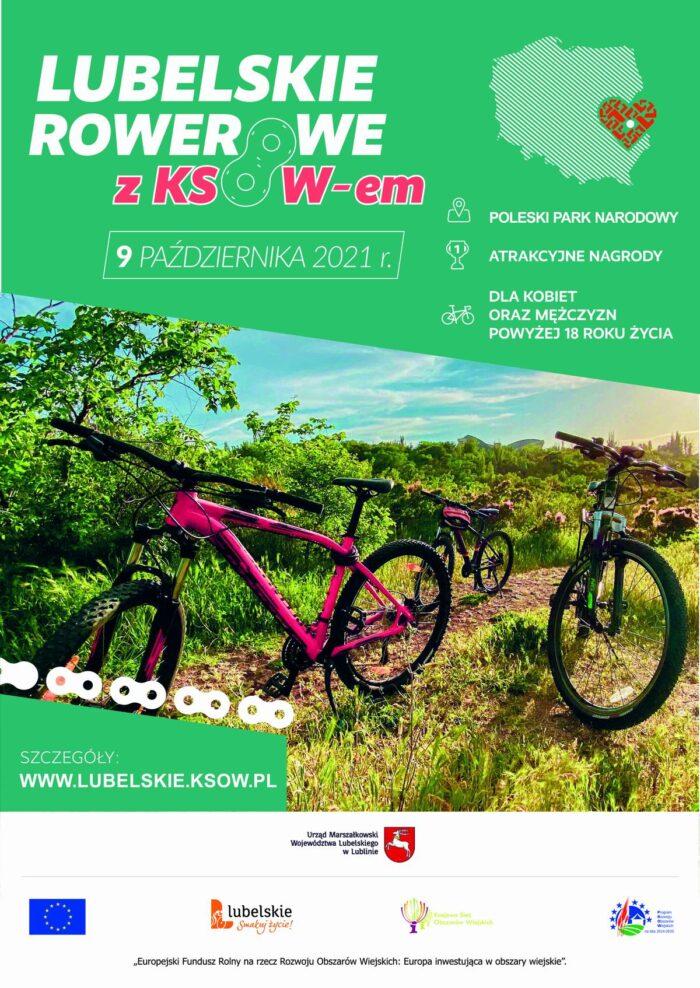 Plakat rowerowy
